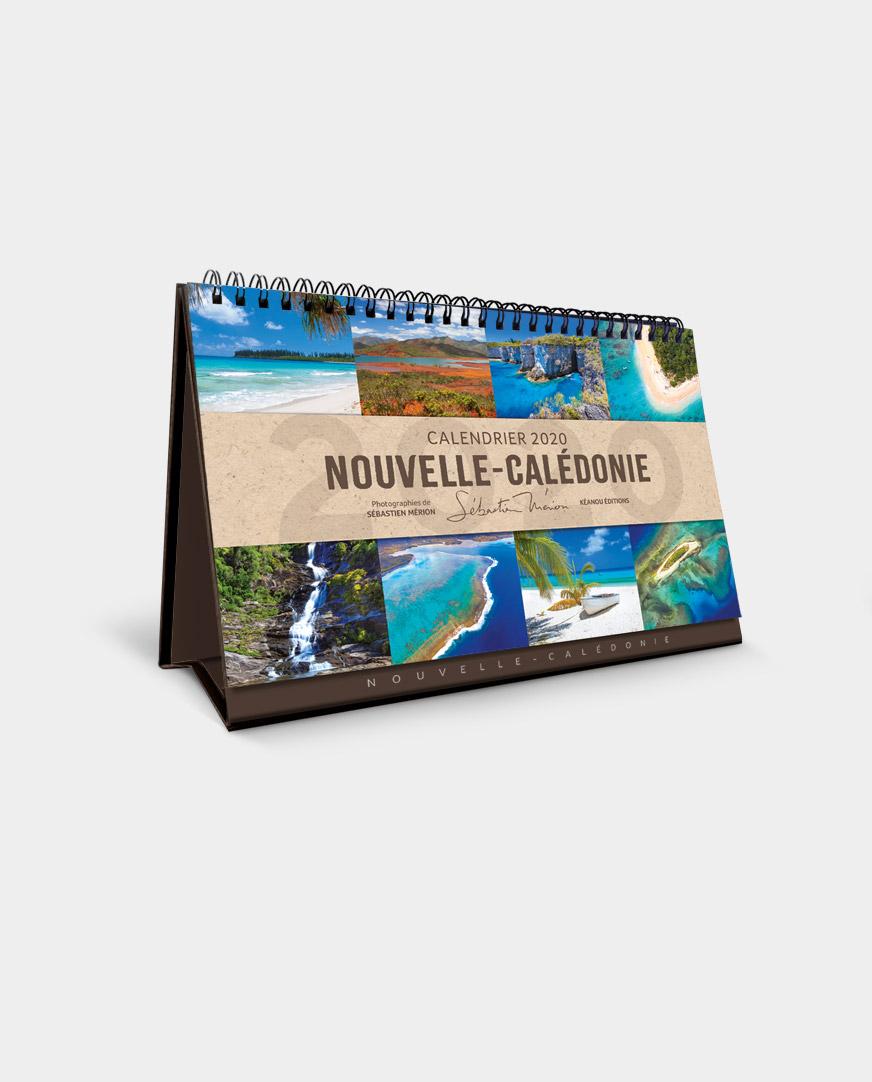Modele De Calendrier 2020.Calendrier Chevalet Notes Deco Nouvelle Caledonie 2020