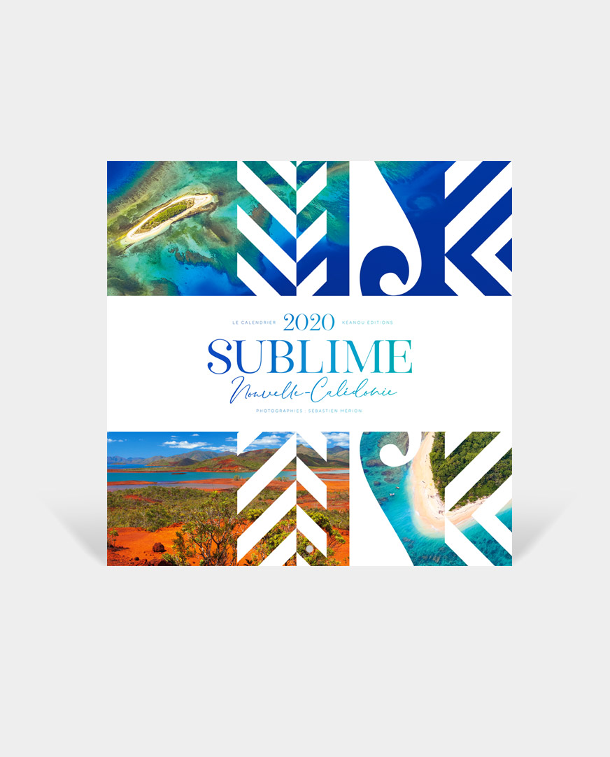 Achat Calendrier 2020.Calendrier 2020 Sublime Nouvelle Caledonie Grand Modele